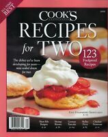 Cook's Illustrated  Recipes for Two        2020