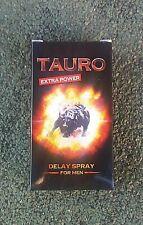 Ritardante Spray Tauro Extra Power 5ML + Omaggio 2 Lubrificante Monouso Ciliegia