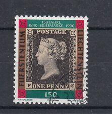 Liechtenstein 1990 150 anniversario primo francobollo usato