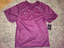 Nwt Nike Mens Maroon Lacrosse Jersey *S*