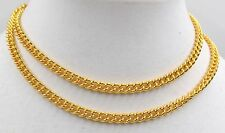 22K GOLD Yellow 916 SOLID Necklace 32 Inch Long MALA NOT Scrap Handmade NEW