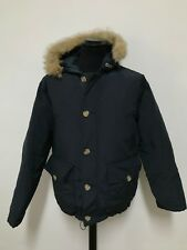 giacca uomo Woolrich piumino double face tag.M tasche jacket vintage rare G263