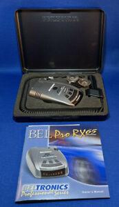 Beltronics RX65RED Pro Radar Detector - Black Original Owner!!!