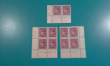 Canada Stamp #252 King George VI in Airforce Uniform 1943 3c PLATE  #13 #3 #34