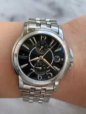 CANDINO WATCH C4314 AUTOMATIC POWER RESERVE GMT MENS 38mm SWISS MADE