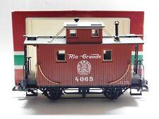 G Scale - LGB - #4065 Rio Grande Caboose Train Car
