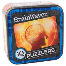 IQ Puzzler Tin BrainWavez Brain Trainer Teaser Mind Workout Stocking Filler Gift