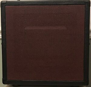 1x10 Guitar Speaker Cabinet - Open Back - Black - Empty