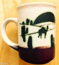 LLAMA COFFEE MUG, CLAY IN MIND, ART POTTERY, SAN DIEGO, CA