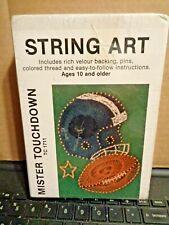 String Thread Art Mister Touchdown Football New 5x7 Tc1711 Age 10+