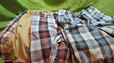 Boys/toddler Size 4T shorts, plaid and pirate, 4 pair NICE!