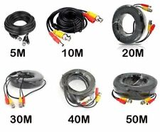 5m 10m 15m 20m 30m 50m BNC Video Power Cable For CCTV Camera DVR Security System