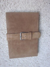 Leather Suede  Pad Sketch Writing Art Journal Travel