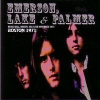 Emerson, Lake & Palmer - BOSTON 1971 - CONCERT RARE - Virtuoso 010/011