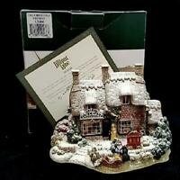 Lilliput Lane The Christmas Present Cottage Collectable Ornament
