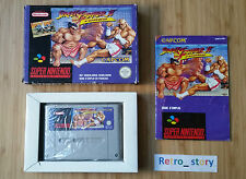 Super Nintendo SNES Street Fighter II Turbo PAL