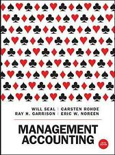 Management Accounting, Rohde, Carsten, Seal, Will, Very Good, Paperback