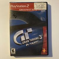 Gran Turismo 3 A-Spec PS2 Sony PlayStation 2 Video Game Tested