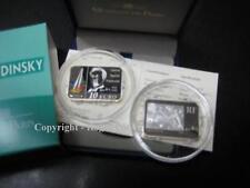 10 Wassily Kandinsky argent colorisé pp proof - rare