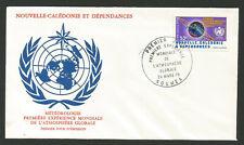 Météorologie Nouvelle-Calédonie 1979 FDC oblit. Nouméa /FDCo237