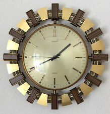 Vintage Metal Collectable Battery Operated Clocks