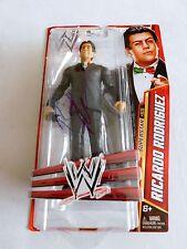 Ricardo Rodriguez WWE Autographed Action Figure Signed wwf Matel Hasbro MOC 2