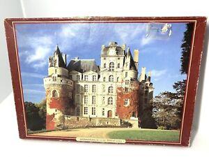 Vtg 1983 waddingtons jigsaw puzzles De Luxe 2000 Piece Chateau De Brissac France