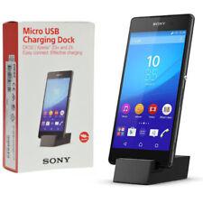 Caricabatterie e dock neri modello Per Sony Xperia Z3 Compact per cellulari e palmari micro USB