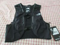 New Unisex North Face Flight Trail Hydration Pack Vest Running Small Color Black