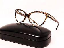 COACH HC 6066 5287 Eyeglasses Optical Frames Glasses Brown Confetti & Gold 51mm