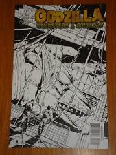 GODZILLA GANGSTERS AND GOLIATHS #5 RI COVER 2011 IDW ALBERTO PONTICELLI