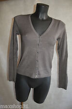 GILET LUSA  S/M/36/38  KNIT/SUETER/MAGLIONE NEUF STRECH