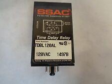 SSAC DIGI-SET TDBL-120AL TIME DELAY RELAY 120VAC