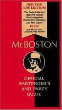 Mr Boston: Official Bartender's and Party Guide (2000, Hardcover)