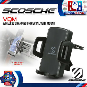 Scosche VQM VentMount Qi - Wireless Charging Universal Vent Mount