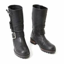 LIMI feu Leather engineer boots Size S(K-31349)