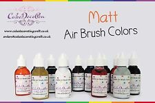 Air Brush Cake Decorating Edible Colors Paints - 20 ML - 15 Colors - Vibrant