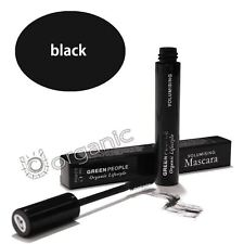 Green People Organic Natural Volumising Volume Mascara Black 7ml Brand NEW