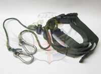 BRITISH ARMY SURPLUS ISSUE OLIVE GREEN LOOP STRAP SAFETY, TOOL RETENTION LANYARD