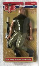 "Hasbro GI Joe US Army Weapons Instructor 12"" Poseable Figure New Sealed"