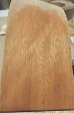"Mahogany (Bosse) wood veneer edgebanding 4"" x 12"" on paper backer no adhesive"