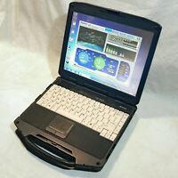 General Dynamics GD8200 320GB HDD 12GB RAM Rugged i7 GPS Toughbook Marine Laptop