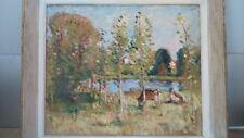 Huile sur toile. Oil IMPRESSIONISME artiste coté Robert FLEURENT (1904-1981)