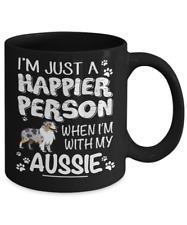 AUSTRALIAN SHEPHERD, AUSSIE COFFEE MUG, AUSTRALIAN SHEPHERD MUG, AUSSIE DOG GIFT