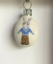 Patricia Breen Bunny Boy Miniature Egg
