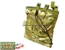 Roll Up Utility Dump Drop Pouch Cartridge Bag Camping Airsoft Hunting 4 COLOURS