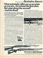 1971 Print Ad of Remington Reports Model 742 BDL Deluxe Woodsmaster Rifle