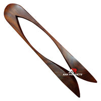 AAR Irish Folk Traditional Percussion Wood Spoon Highland Musical