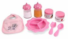 Fun Toddlers And Kids Baby Doll Accessories Feeding Set 8 Piece Playset Roleplay