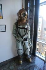 Original Russian Soviet 3-bolt diver's suit Belted Ussr Maritime